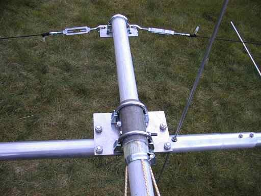 "Al Antenna Plates 2/"" Mast to 1.5/"" Boom or 1.5/"" Mast to 2/"" or vertical 2/"" to 1.5"